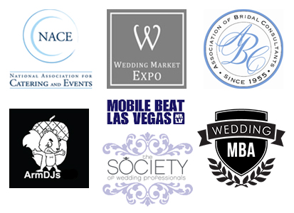 It's always an honor to be invited to speak to my peers at these local, regional and national wedding conferences;.