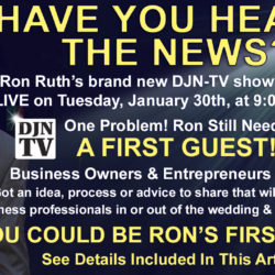 I Need A First Guest For My New DJNTV Show!