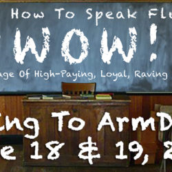 Learn How To Speak Fluent WOW! (ArmDJs Blog)